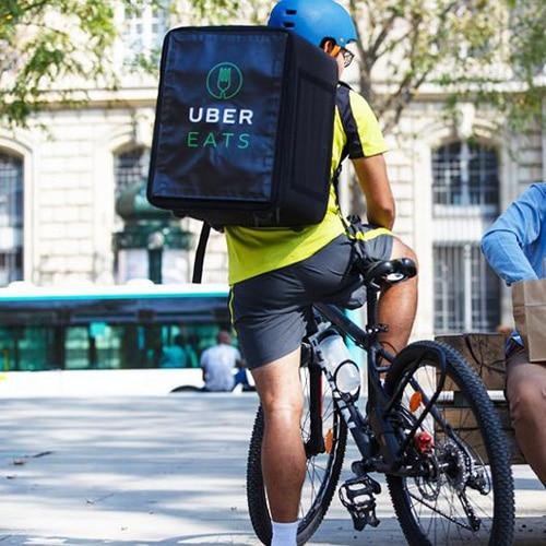 D!Bag 33 sac de livraison isotherme pour coursier à vélo Uber Eats