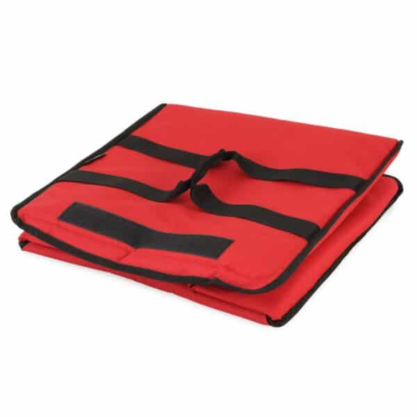 Sac de livraison isotherme rouge Prodelbags pour livraison de pizza 43cm.