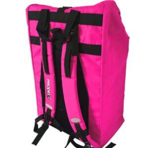 Rolltop backpack - Messenger bag - sac de livraison Sac à dos pour coursier à vélo - rose