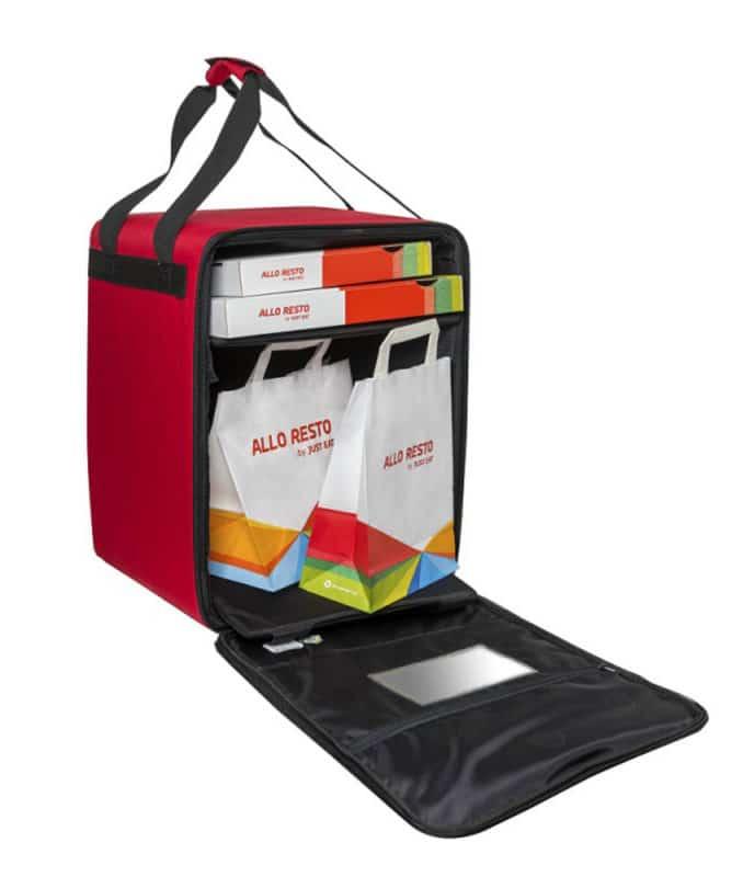 PRD 22 sac de livraison isotherme pour coursier à vélo Just Eat