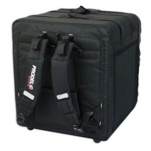 Sac de livraison ProdelBags PRD52-4343 pour coursier à vélo ou moto. Sac à dos isotherme de livraison 69 litres