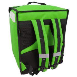 PRODELBags UBB 33 vert. Sac à dos de livraison pour coursier à vélo, sac à dos Uber Eats, Deliveroo ou Glovo