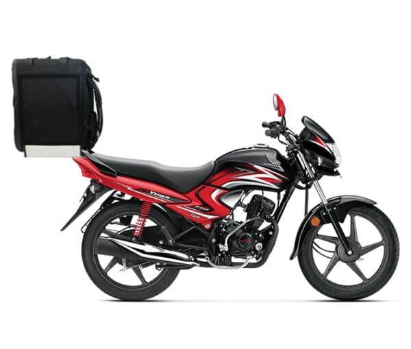 Caisson de livraison ProdelBags Miles PRD52-4343 pour coursier à vélo ou moto. Sac à dos isotherme de livraison 69 litres