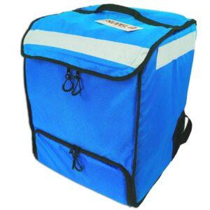 PRODELBags UBB 33 bleu. Sac à dos de livraison pour coursier à vélo, sac à dos Uber Eats, Deliveroo ou Glovo