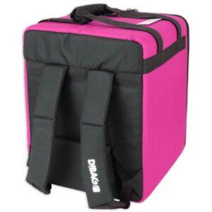D!Bag 33 sac de livraison isotherme pour coursier à vélo Uber Eats, Deliveroo