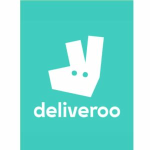 Impression numérique sure PVC. Logo Deliveroo. Sac Deliveroo