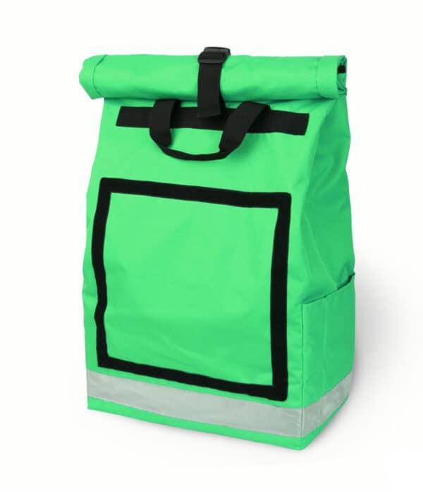 Rolltop backpack - Messenger bag - sac de livraison Sac à dos pour coursier à vélo - vert