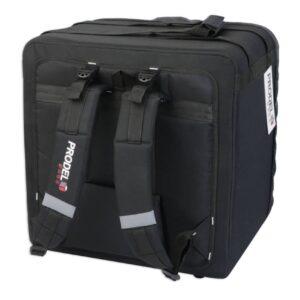 Sac de livraison ProdelBags PRD52-4733 pour coursier à vélo ou moto. Sac à dos isotherme de livraison 66 litres